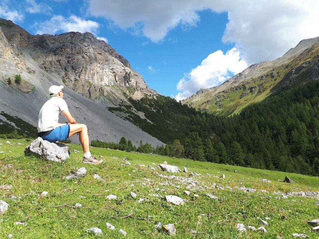 Alp Sesvenna Berge Schweiz