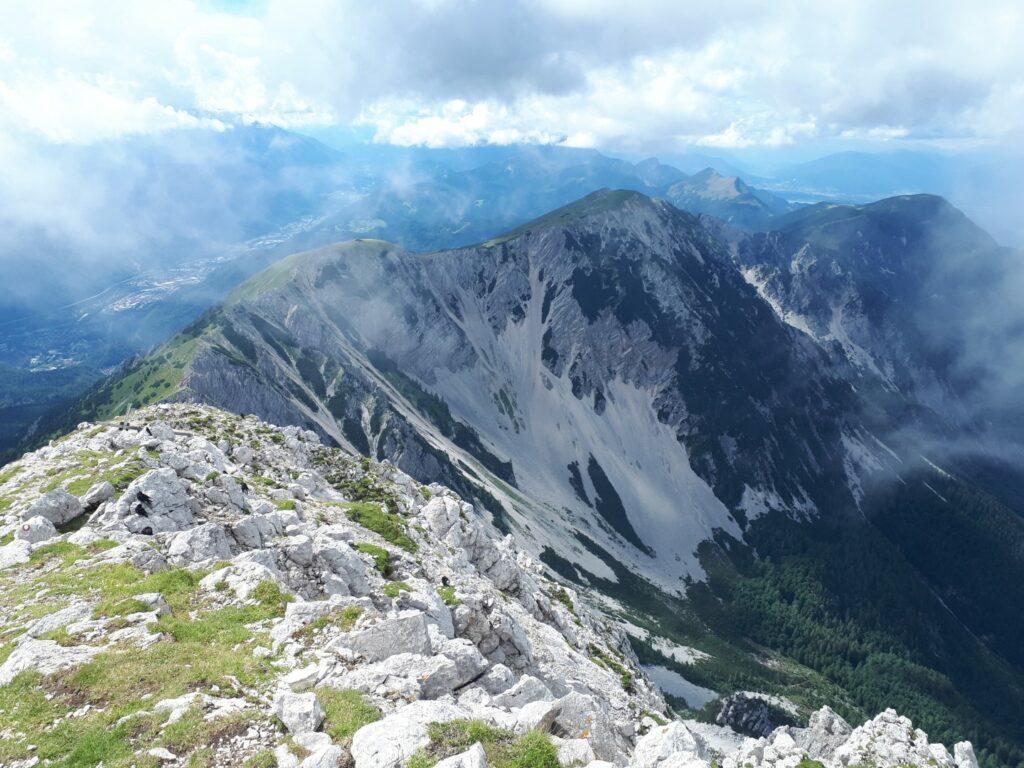 Aussicht Hochstuhl Stol Slowenien
