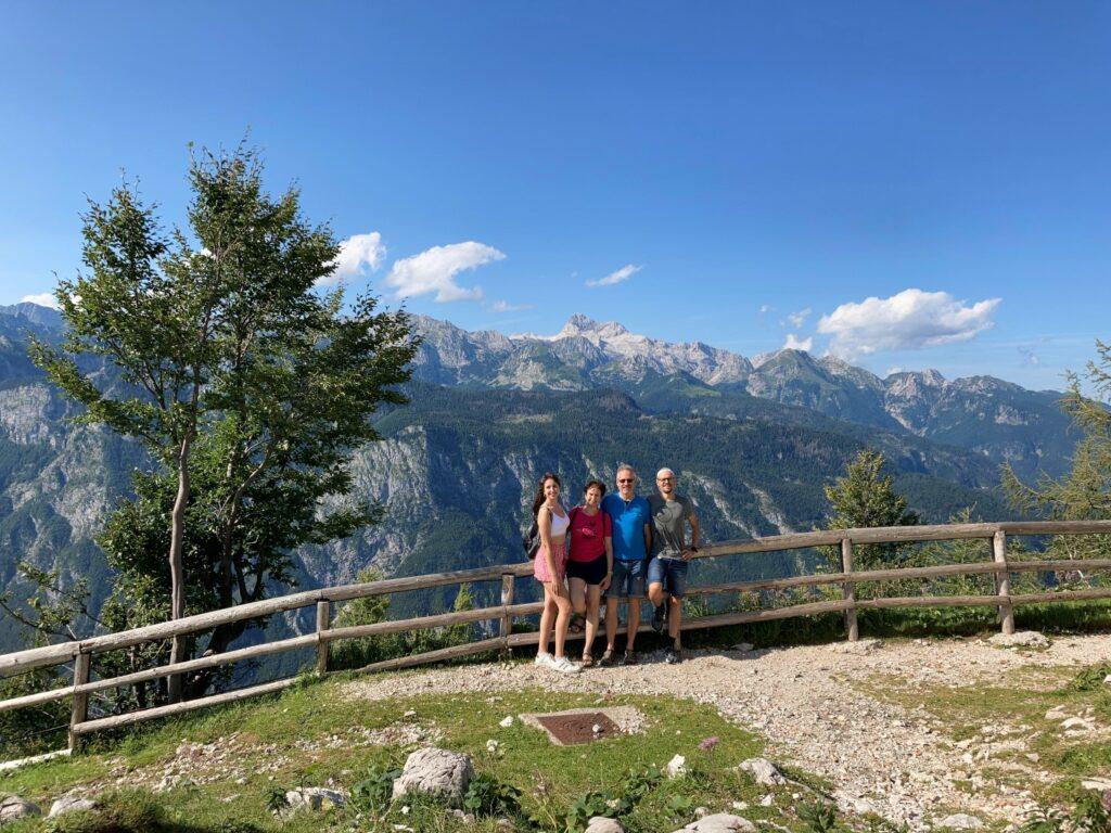 Aussichtspunkt Vogel Seilbahn Slowenien