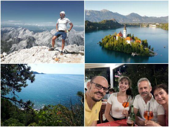 Berge und Meer in Slowenien
