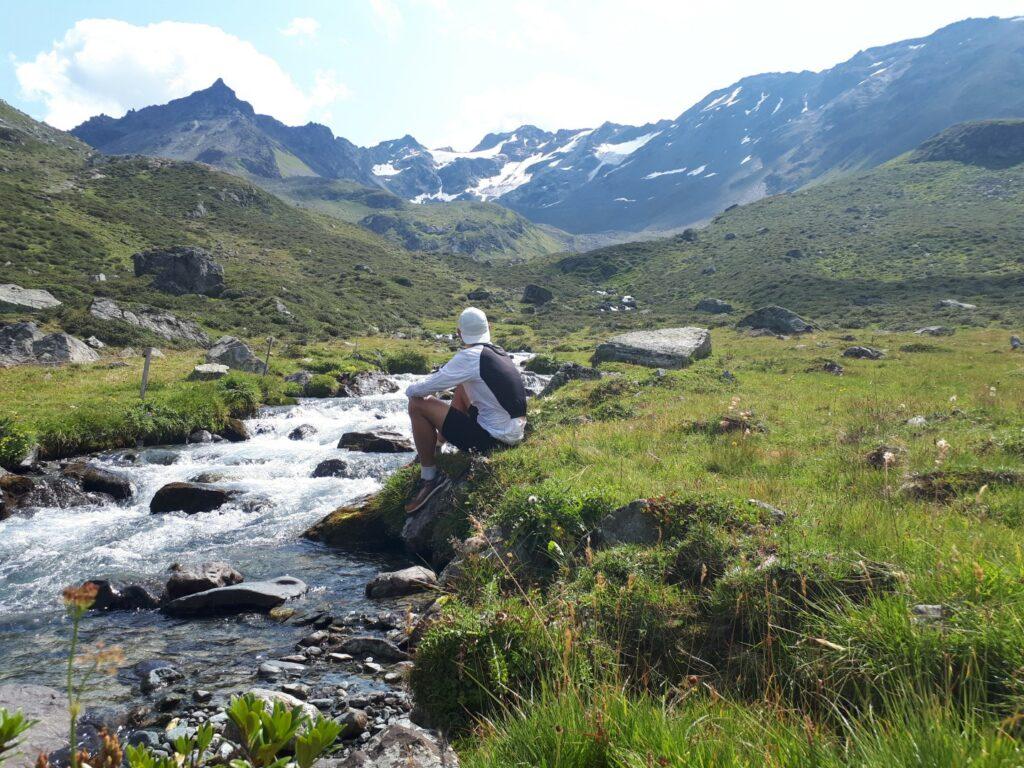 Dischmabach Dürrboden Schweiz