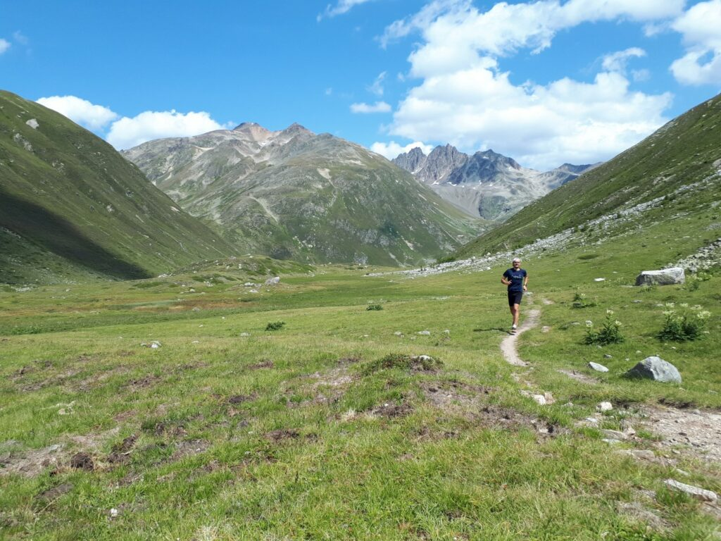 Trailrunning Ova Funtauna Tal Schweiz