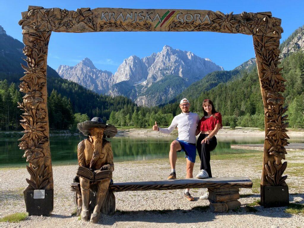 Jasna See Slowenien