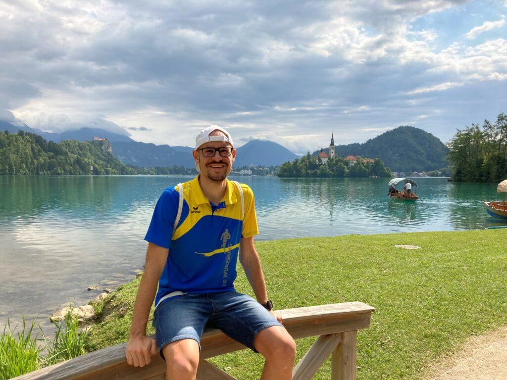 Runde Bled See Slowenien