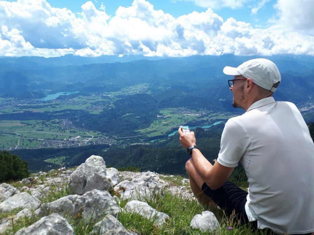 Hochstuhl Stol Aussicht Bled Slowenien