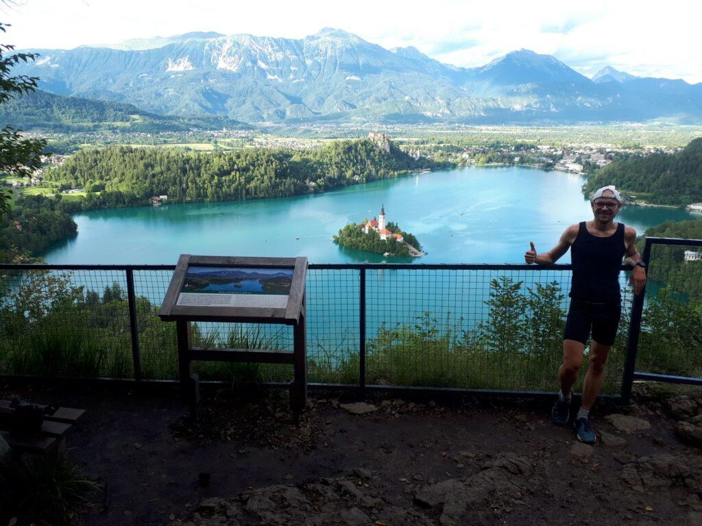 Aussichtspunkt Mala Osojnica Bled Slowenien