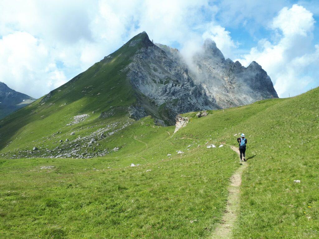 Trail Gotschnagrat Casanna Schweiz