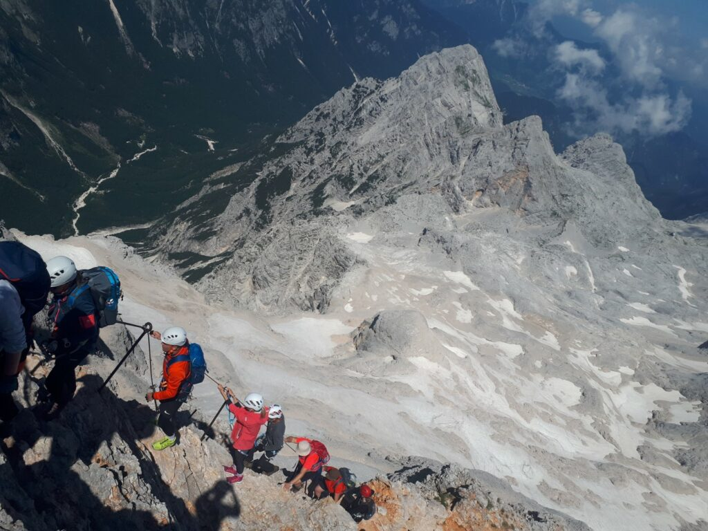 Klettersteig Triglav Slowenien