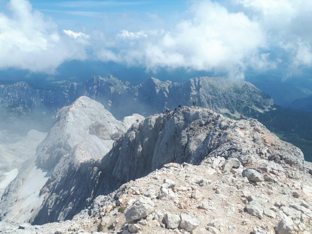 Triglav Slowenien Abstieg
