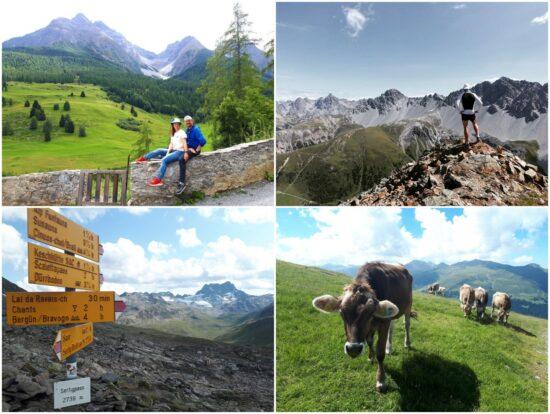 """""""Urlaub"""" in den Schweizer Bergen"""